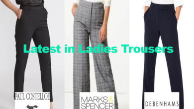The Latest in Ladies Trousers for under €60