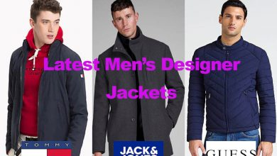 The Latest in Leading Men's Designer Jackets