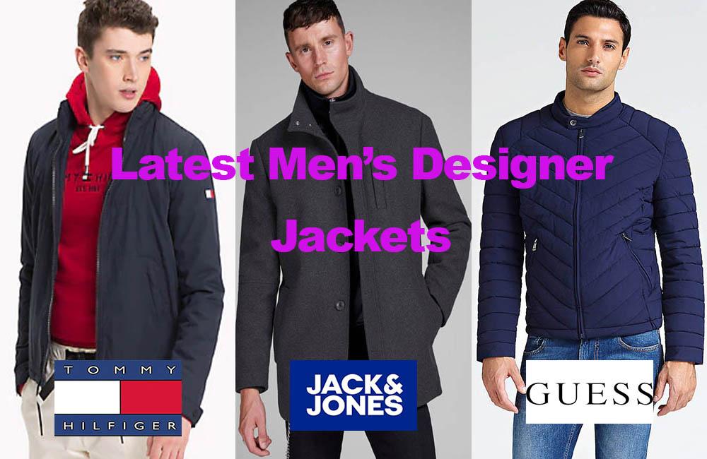 The Latest in Leading Men's Designer Jackets