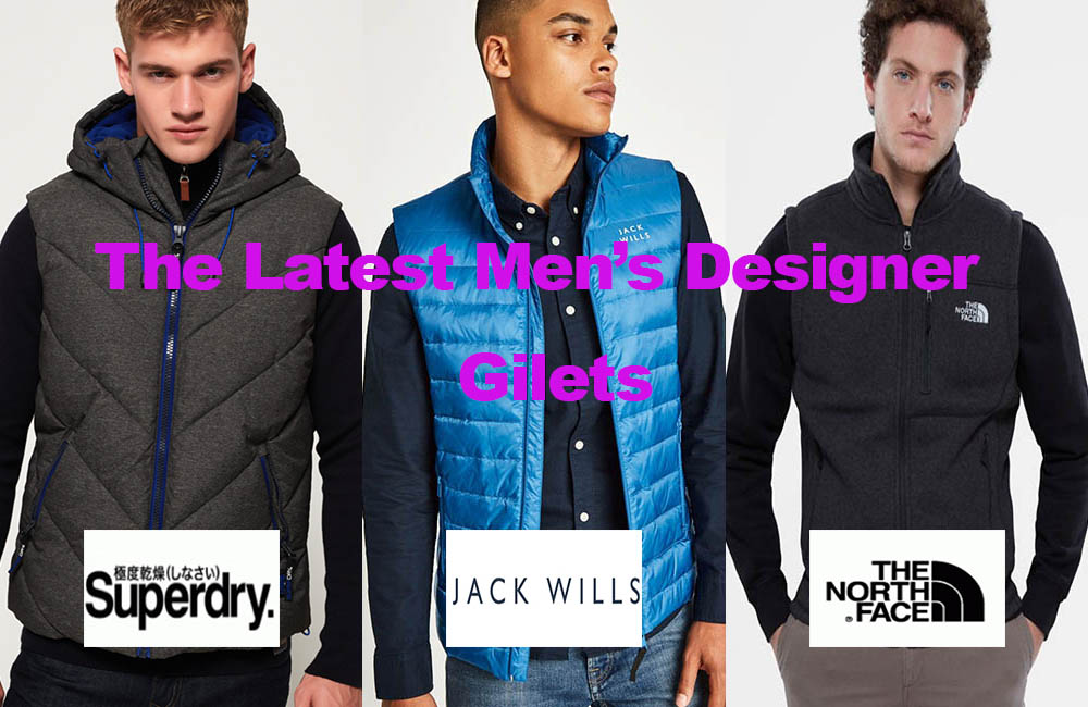 The Latest in Men's Designer Gilets for under €95