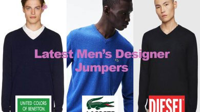 The Latest in Men's Designer Jumpers