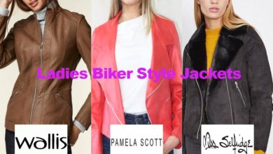 The latest in ladies biker jacket fashion
