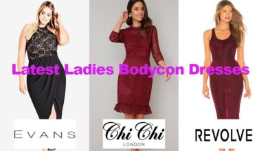 The latest in ladies bodycon dress fashion designs