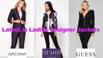 The latest in ladies designer jacket fashion designs