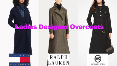 The latest in ladies designer long coats fashion
