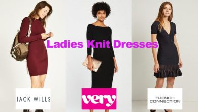 The latest in ladies knit dress fashion designs