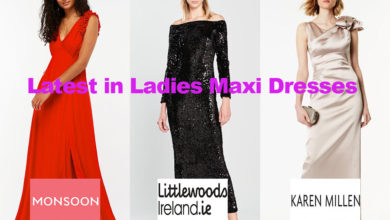 The latest in ladies maxi dress fashion designs