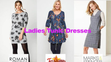 The latest in ladies tunic dress fashion