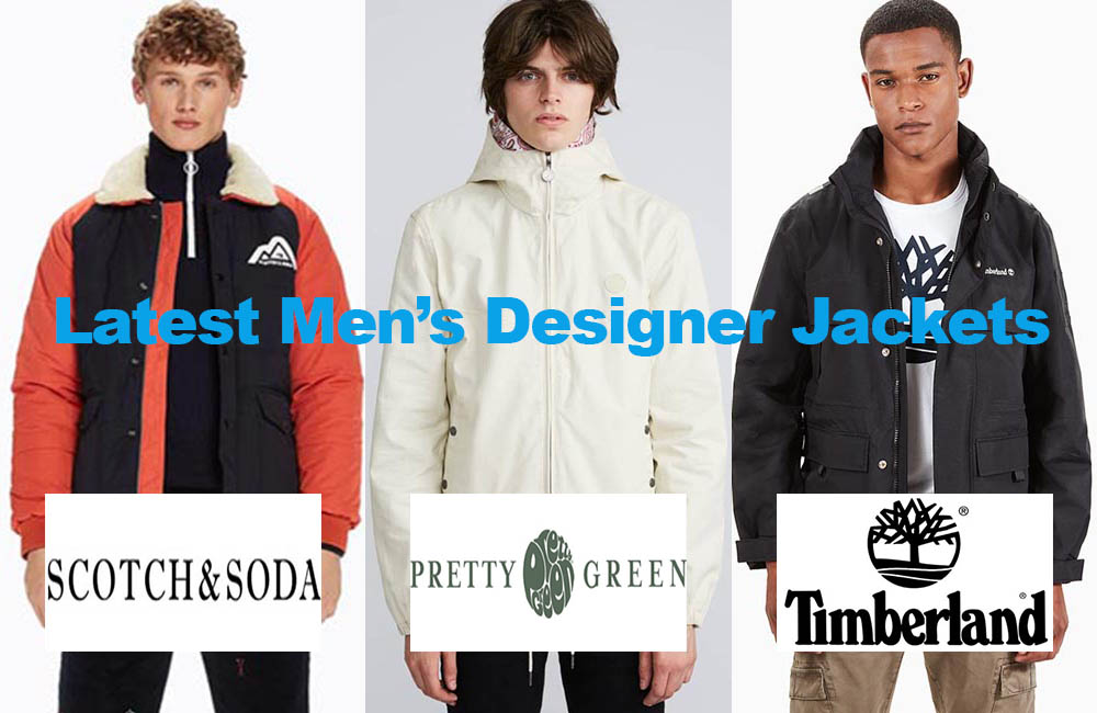 The latest in men's designer jacket fashion