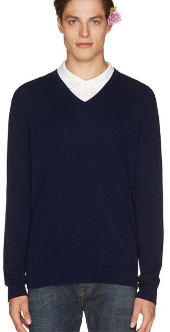 Woollen V-Neck Sweater from Benetton
