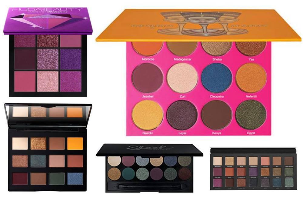 5 Jewel-Toned Eyeshadow Palettes Under €45