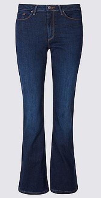 Culpt & Lift Mid Rise Slim Boot Cut Jeans from M&S