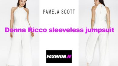 Donna Ricco Sleeveless Jumpsuit from Pamela Scott