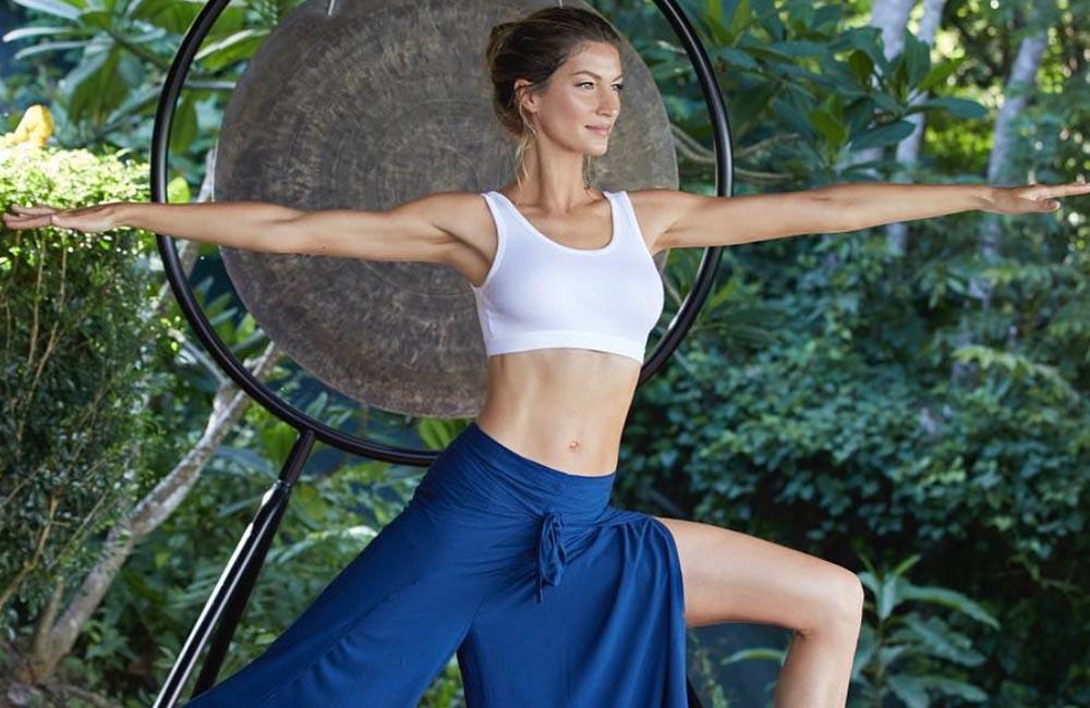 Gisele Bundchen reveals the benefits of Meditation