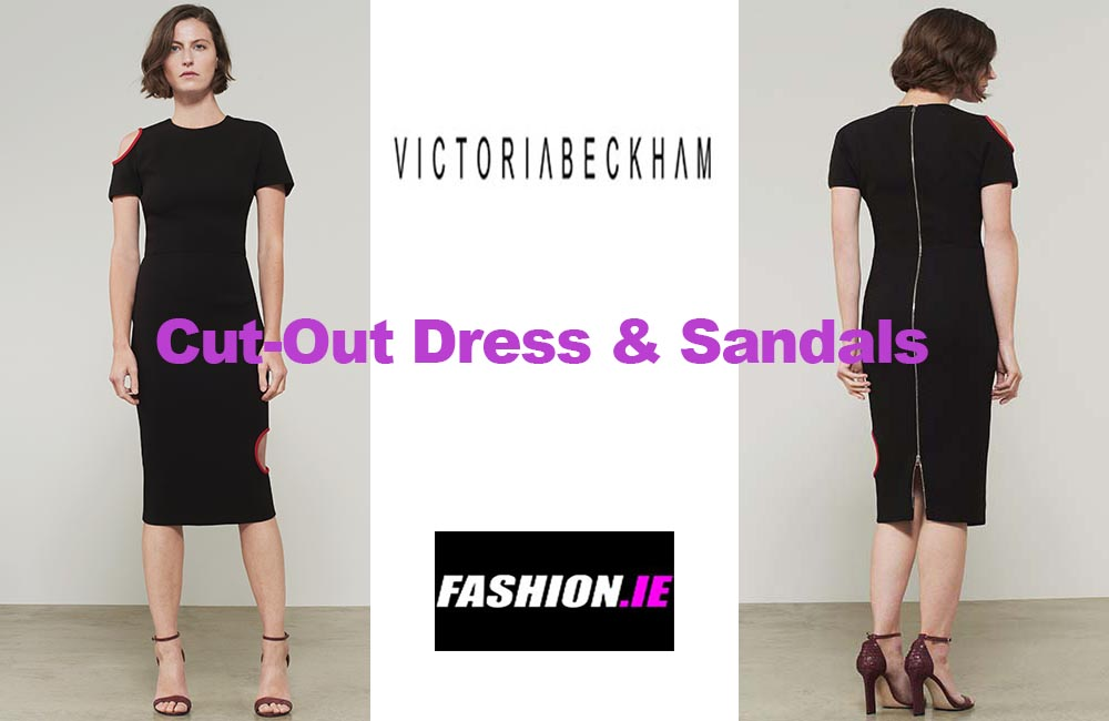 Latest fashion Cut out dress from Victoria Beckham