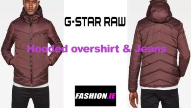 Latest fashion Hooded overshirt and jeans from G-Star Raw