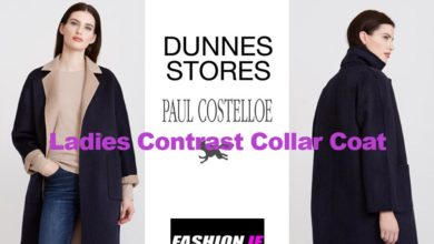 Latest fashion Paul Costelloe Collar Coat from Dunnes Stores