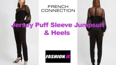 Latest fashion Puff Sleeve Jumpsuit from French Connection