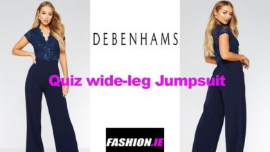 Latest fashion Quiz navy jumpsuit from Debenhams
