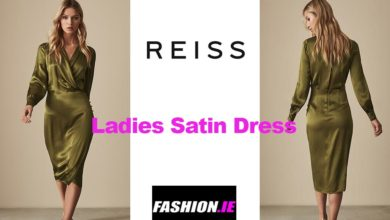 Latest fashion Renae Satin Wrap dress from Reiss