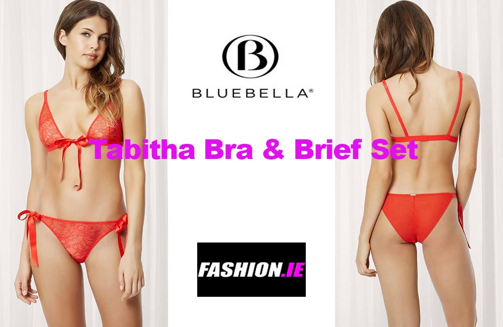 Latest fashion Tabitha Bra and Brief set from Bluebella