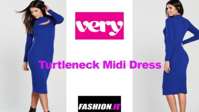 Latest fashion Turtleneck Midi Dress by Very