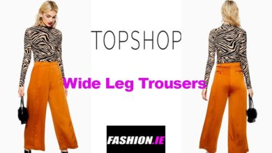 Latest fashion Wide trousers from Topshop