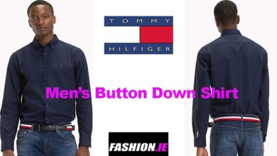Latest fashion button down collar shirt from Tommy Hilfiger