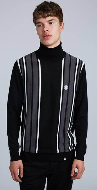 Long Sleeve Knitted Roll Neck from Pretty Green
