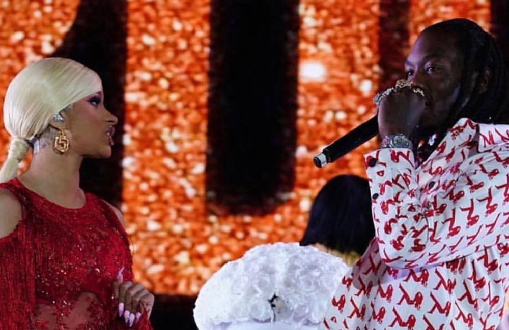 Offset interrupts Cardi B gig with apology