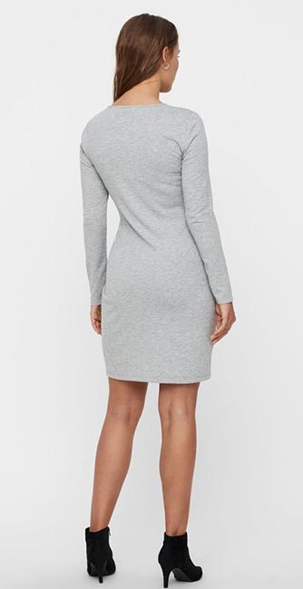 Rear view of this Knot dress from Vero Moda
