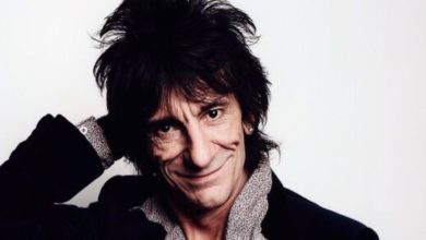 Ronnie Wood's natural looking hair secret