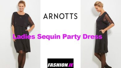 The latest in sequin party dress designs from Arnotts