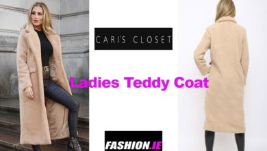 Latest fashion Teddy coat from Cari's Closet