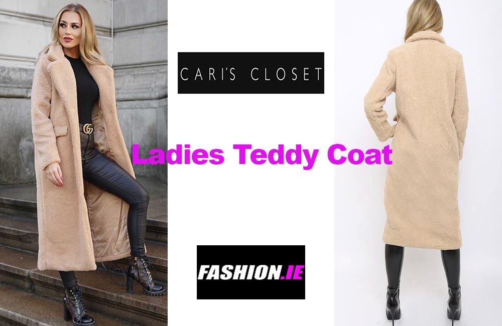 Latest fashion Teddy coat from Cari's Closet