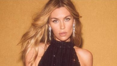 Abbey Clancy on the perfect NYE look
