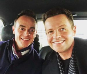 Ant and Dec pictured for the first time in nearly a year (Instagram photo)