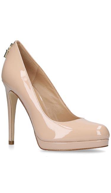 Antoinette Pink Pump Court Shoe from Michael Kors