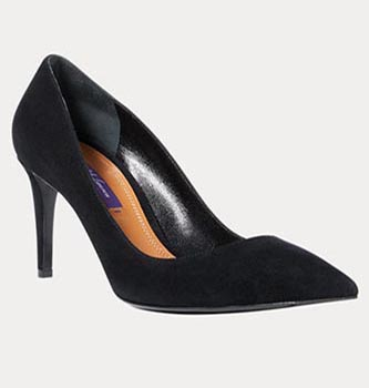 Armissa Suede Pump from Ralph Lauren