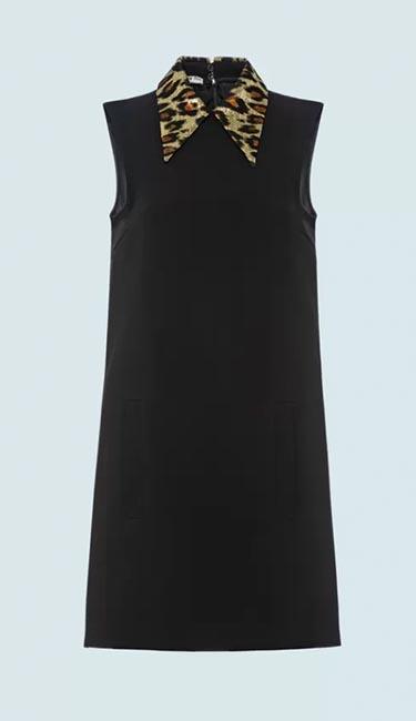 Cady & Jacquard Dress from Miu Miu