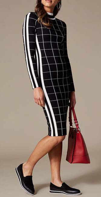 Checked Bodycon Dress from Karen Millen