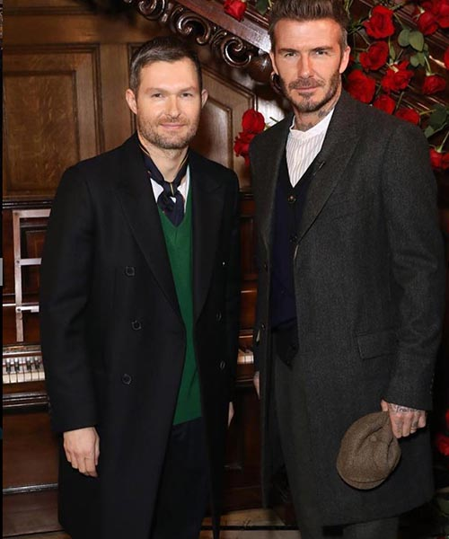 David Beckham launches new Peaky Blinders Collection (Photo Instagram 2019)