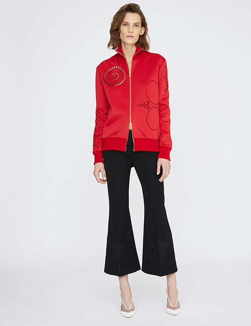Embroidery Red Jacket from Stella McCartney