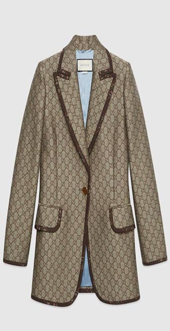 GG Wool Canvas Jacket from Gucci