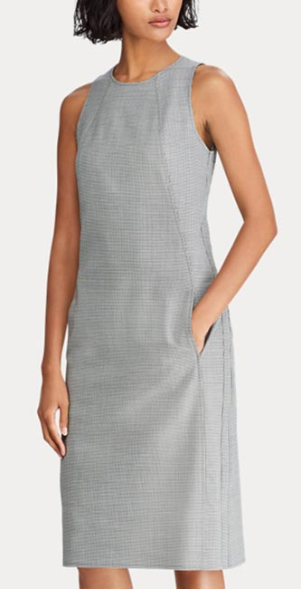 Houndstooth A-Line Dress from Ralph Lauren
