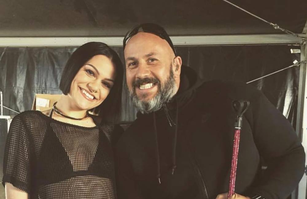 Jessie J posts tribute after security guard's death