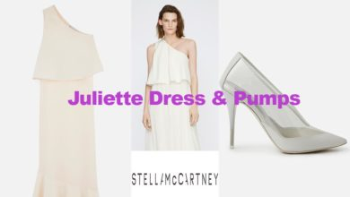 Juliette dress and pumps by Stella McCartney
