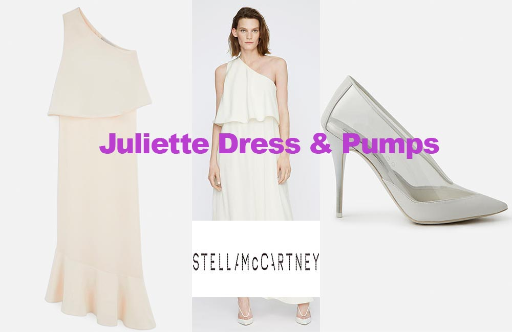 Juliette dress and pumps by Stella McCartney