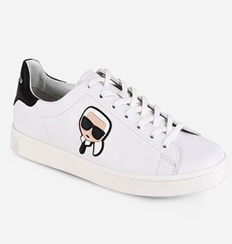 Kourt Karl Ikonik Lo Lace Shoe from Karl Lagerfeld