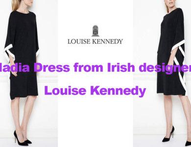 Nadia dress from Irish designer Louise Kennedy